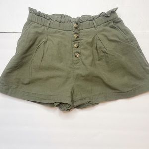 AEO Paperbag High Rise Shorts